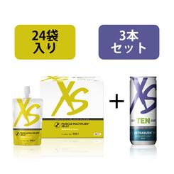 XS マッスル マルチプライヤー ゼリー ヘッケル スペシャル セット