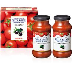 エサンテ パスタソース トマト&オリーブ