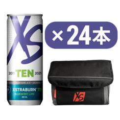 XStraBURN™ TEN ブルーベリーライム × コールマンクーラーバッグセット(黒)
